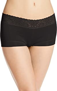 Cotton Dream Boyshort with Lace