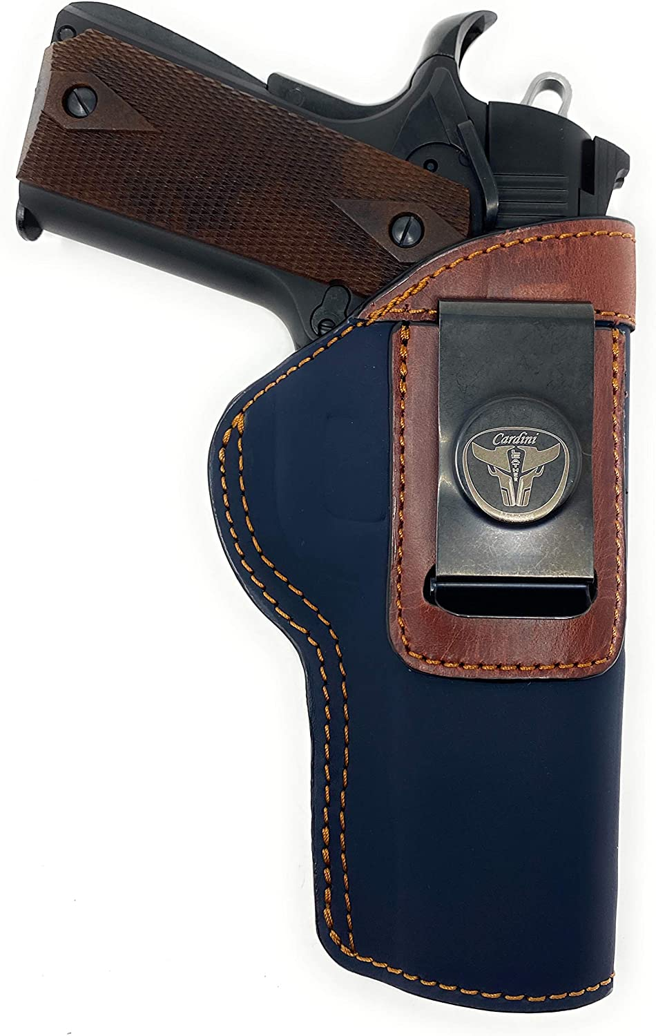 Cardini Leather - IWB 最安値挑戦 Holster Most Handguns Style 1911 Fits 売店