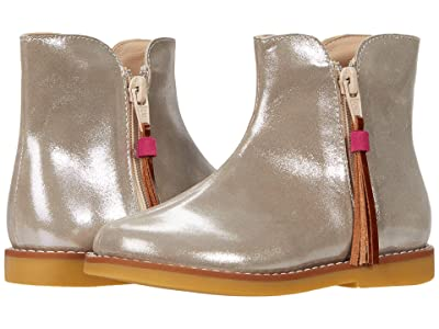 Elephantito Lauren Booties (Toddler/Little Kid/Big Kid) (Metallic Toupe 1) Girl
