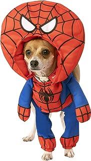 Rubie's Marvel Walking Spider-Man Oversized Head Pet Costume, Large