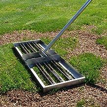 Golf Garden Grass Level, Uitgerust met een 43-inch handvat, heavy-duty roestvrijstalen gazonduwer met grote capaciteit niv...