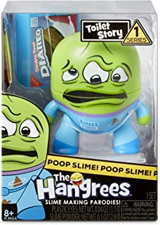 Hangrees MGA Entertainment The Hangrees Toilet Story Collectible Parody Figure, Multi-Colour, 563297