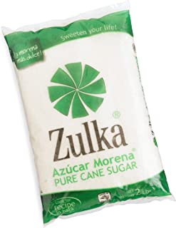 Zulka Azucar Morena (Pure Cane Sugar), 32-Ounce Bags (Pack of 10)