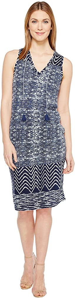 Lucky Brand - Blue Batik Dress