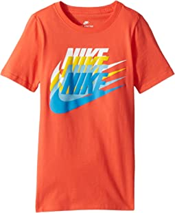 Nike Kids NSW Sunset Futura T-Shirt (Little Kids/Big Kids)