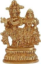 Vrindavan Bazaar Radha & Krishna Idol for Home Décor | Worship Accessory| Car Accessory(5 cm x 2.5 cm x 8 cm)