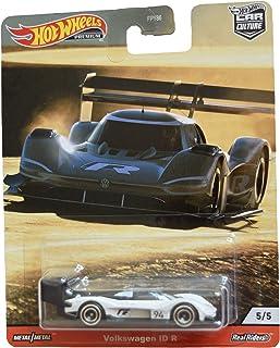 DieCast Hotwheels Volkswagen ID R [White/Black] 5/5, Thrill Climbers