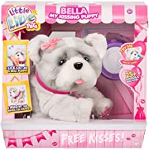 Little Live Pets Bella My Kissing Puppy Dog Interactive Plush Pal