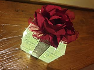 Pacchetto Illuminato Pacchetto Regalo Natale Fiore Rosso Idea Regalo Decorativa per Natale Capodanno Compleanno Albero di ...