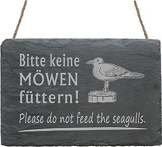 Schild Seepferdchen « KÜSTENKIND » Türschild Muschel maritim Möwe Ostsee Nordsee