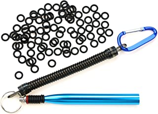 Nicer-S Wacky Worm Rig Tool OR Wacky O-Rings for Wacky Rigging Plastic Senko Style Worms & Stick Soft Baits