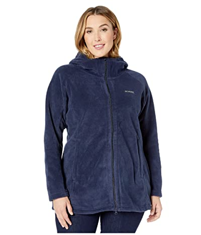 Columbia Plus Size Benton Springstm II Long Hoodie (Dark Nocturnal) Women