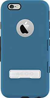 "SEIDIO CAPSA™ TouchView with Kickstand 免掀盖触控保护壳 (含支架),Royal Blue 科技蓝,适用于Apple iPhone 6 - 4.7"""