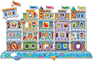 The Learning Journey - Puzzle Doubles! Create A Scene - Castle - Toddler Games & Gifts for Boys & Girls Ages 3 Years and U...