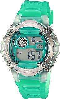 Armitron Sport Women's Digital Chronograph Translucent Resin Strap Watch, 45/7129