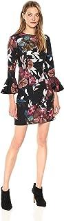 فستان Panache 2 Faye Floral Bell Sleeve Dress