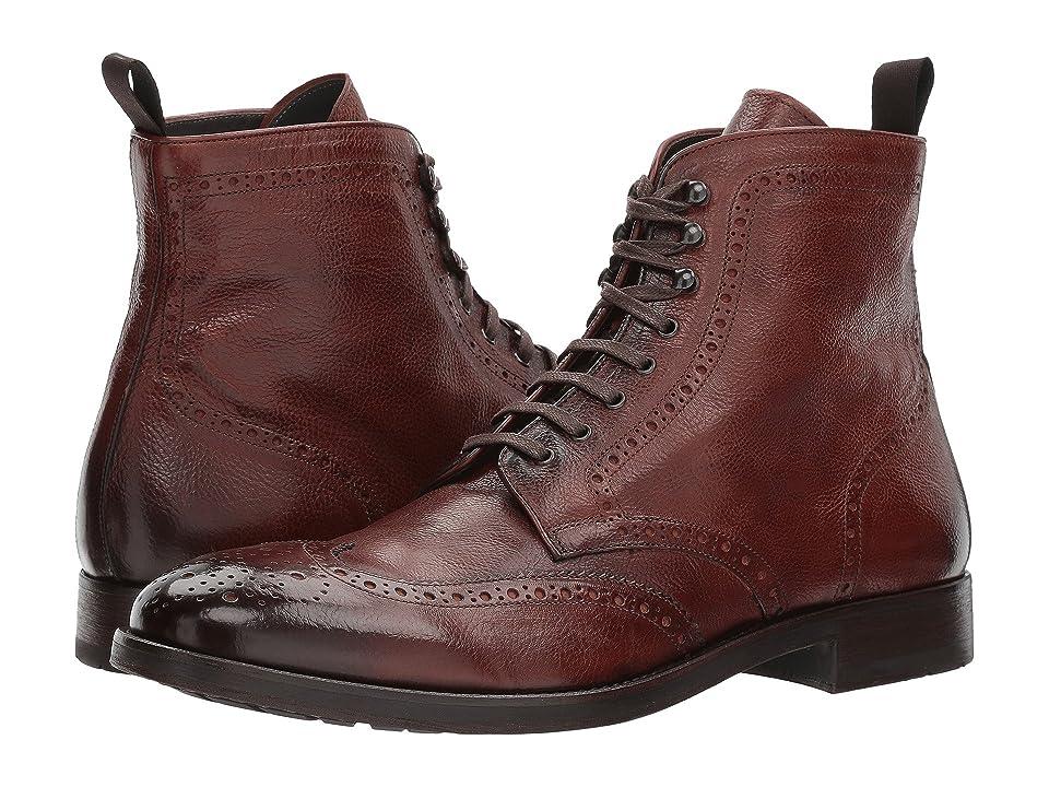 To Boot New York Bruckner (Dark Brown Leather Burro) Men