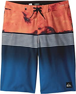 Quiksilver Kids - Highline Lava Division Boardshorts (Big Kids)