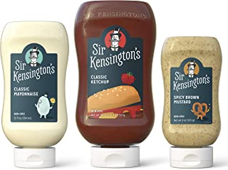 Sir Kensington's Condiment Mixed Picnic Pack, Pack of 3