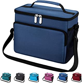 Leakproof Reusable Insulated Cooler Lunch Bag – Office Work School Picnic Hiking..