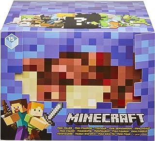 Minecraft Mini-Figurine Surprise inspirée par Le Jeu vidéo, contient 1 mini-figurine Minecraft modèle aléatoire, Jouet pou...