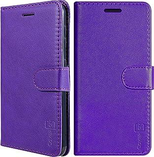 CoverON RFID Blocking Carryall Series for Samsung Galaxy A01 Wallet Case Purple D780-CO-SAGA01-VW6-PU