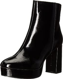 Best womens black leather platform boots Reviews