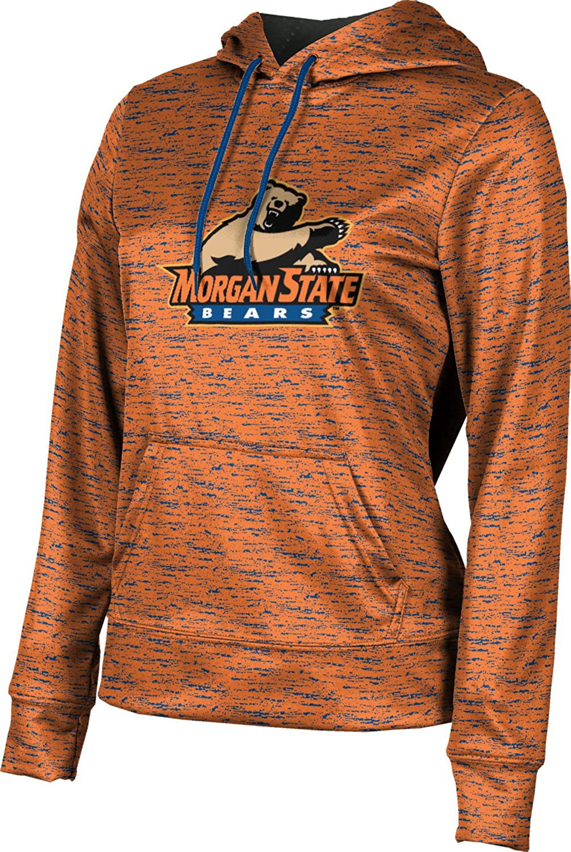 Morgan State University Girls' Pullover Hoodie, School Spirit Sweatshirt (Brushed)