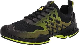 حذاء رياضي رجالي Biom Aex Trainer من ECCO بلون أسود/أخضر ليموني، مقاس 11-11. 5 US