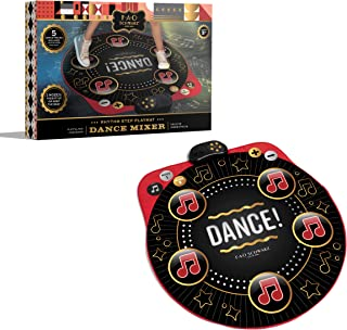 FAO Schwarz Dance Mixer Rhythm Step Playmat, Music Groove Step Game, Aux Jack Input, Speaker, Fun Active Play Toy for Boys...