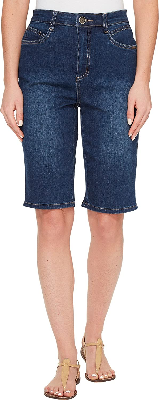 FDJ French Dressing Jeans Womens Supreme Denim Suzanne Bermuda in Delight