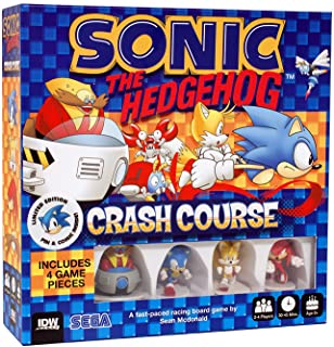 IDW Publishing Current Edition Sonic The Hedgehog Crash Course Board Game
