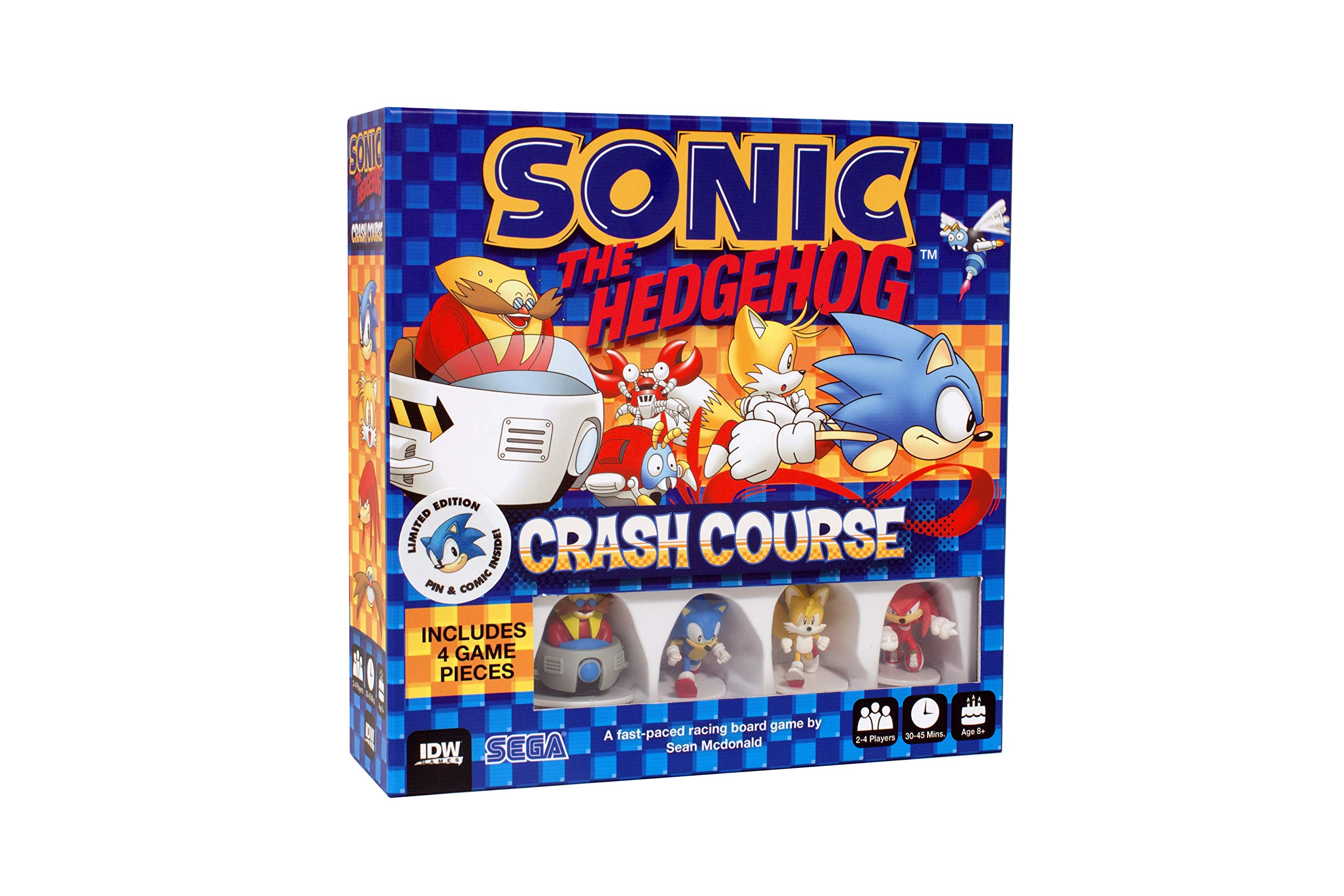 Amazon Com Idw Games Sonic The Hedgehog Crash Course Toys Games