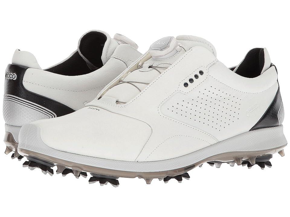ECCO Golf Biom G 2 Boa GTX (White/Black) Men