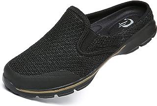 CELANDA Zuecos Hombre Mujer Comodas Zapatillas de Casa Sandalias Playa Verano Mules Antideslizante Ligero Planos Zapatos C...