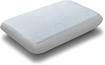 "Repose Gel Memory Foam Pillow - 24""x16""x4"", Off-White"