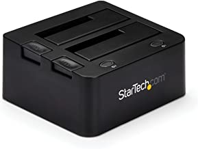 """StarTech.com Universal Hard Drive Docking Station for SATA and IDE - USB 3.0 Dock for 2.5""""/3.5"""" HDDs/SSDs with UASP (UNIDO..."""