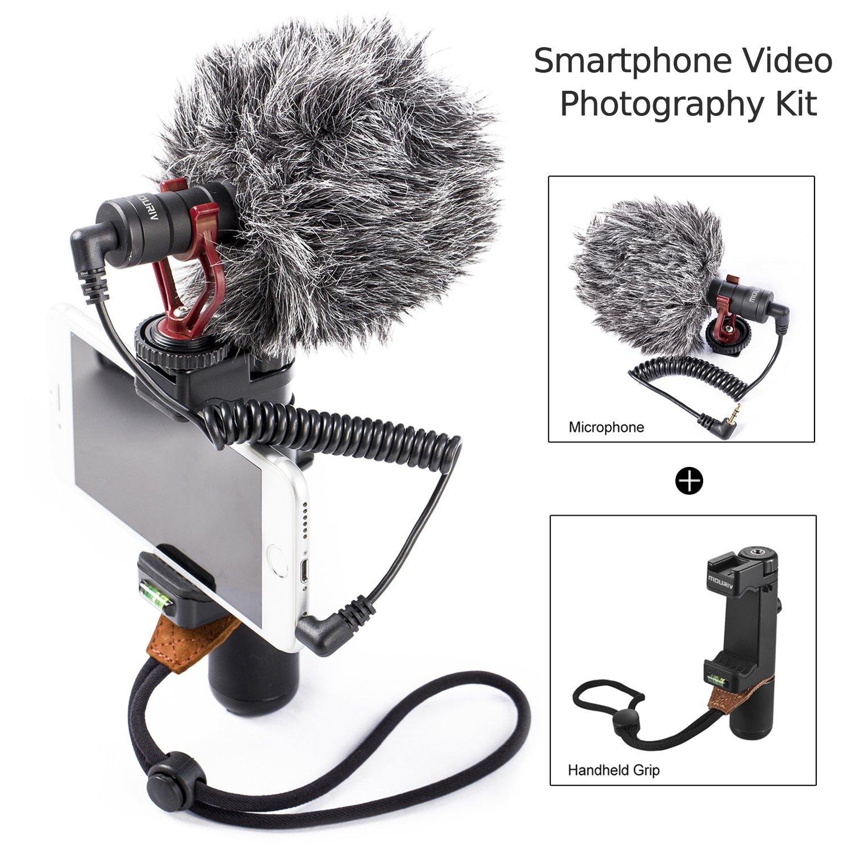 Mouriv Smartphone Handheld Grip Stabilizer Holder Soporte de ...