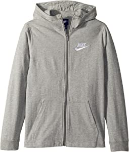 Sportswear Full-Zip Hoodie (Little Kids/Big Kids)