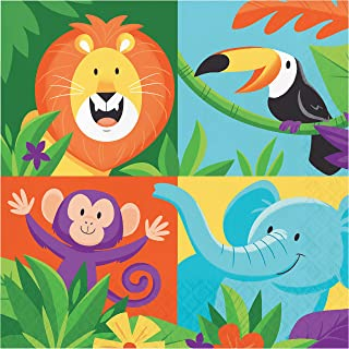 Jungle Safari Luncheon Napkin Kit, 48 ct