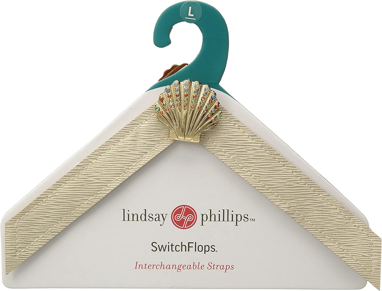 Lindsay Phillips Women's Luna, no color, L Regular US