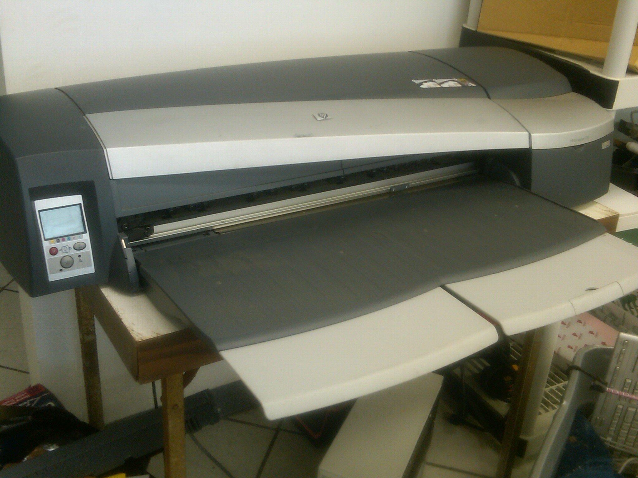 HP Impresora HP Designjet 130r - Impresora de gran formato (PCL 3 ...