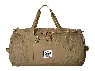 Herschel Supply Co. Sutton (Kelp Crosshatch/Kelp) Duffel Bags
