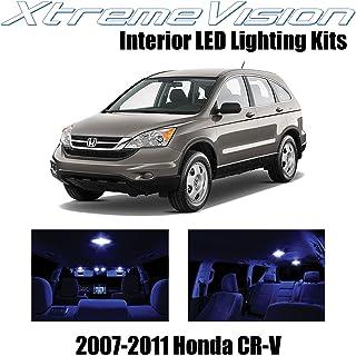Xtremevision Interior LED for Honda CR-V 2007-2011 (8 Pieces) Blue Interior LED Kit + Installation Tool