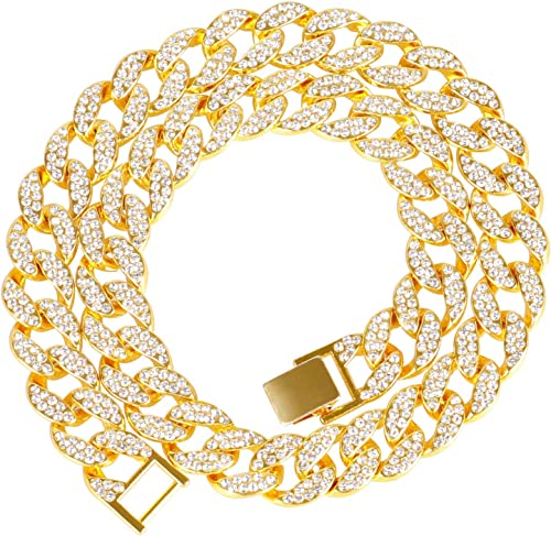 Gold Plated No Metal Type and Chain Necklace for Men s