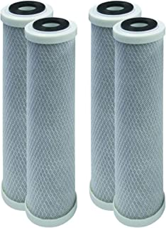 EcoPure EPW2F CompatiblePremium Fact Universal Whole Home Filter (4 Pack)