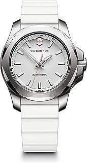 ساعة فيكتورينوكس سويس ارمي للنساء كوارتز انالوج بعقارب وحزام مطاطي - 241769