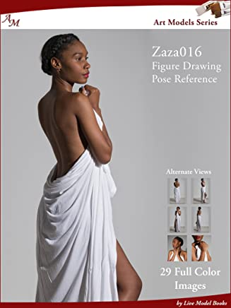 Art Models Zaza016: Figure Drawing Pose Reference (Art Models Poses) (English Edition)