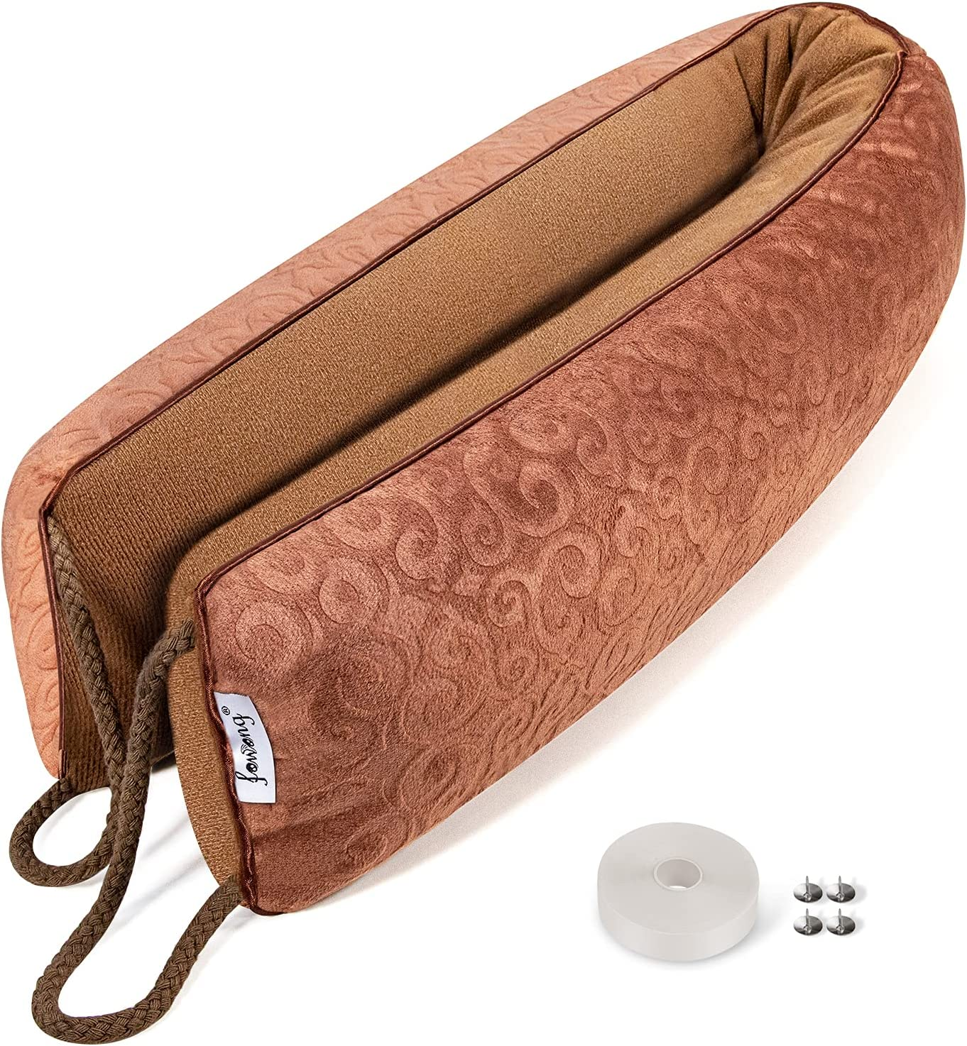 fowong 30 Inch gift Weighted Max 63% OFF Under Draft Se Door Stopper Bottom