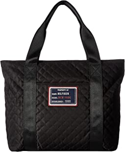 Tommy Hilfiger - Nylon Patch Quilt Shopper